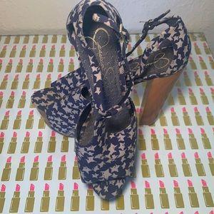 Jessica Simpson Platform Heel Size 8